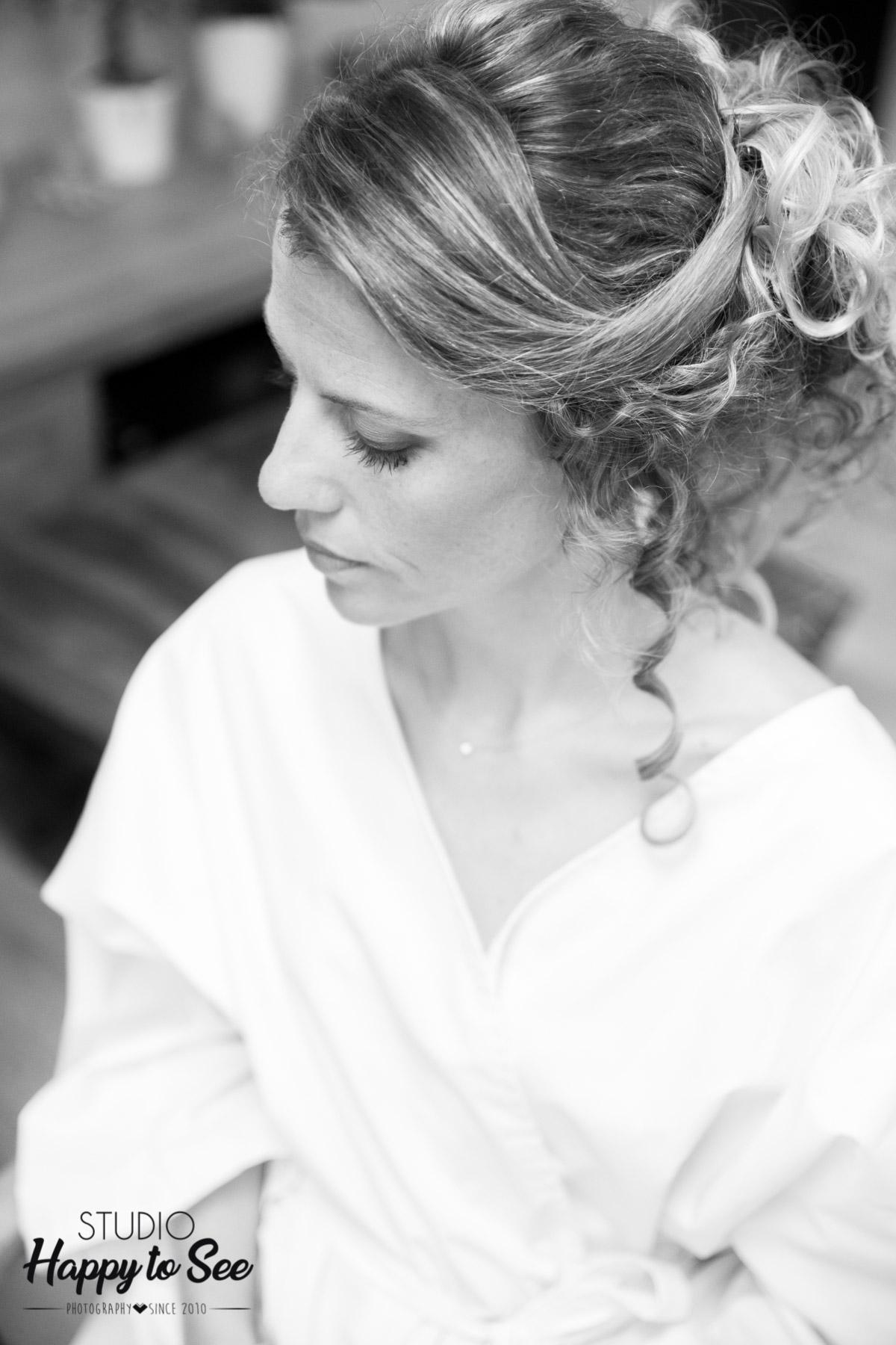 Preparatifs coiffure maquillage de la mariee photographe mariage toulouse