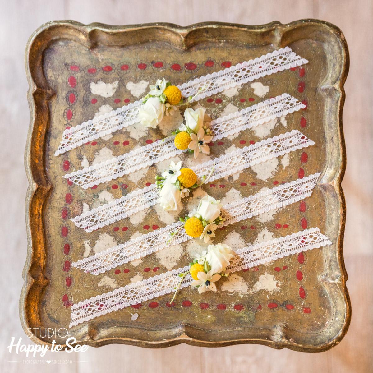 Bracelets dentelles pour les demoiselles d'honneur