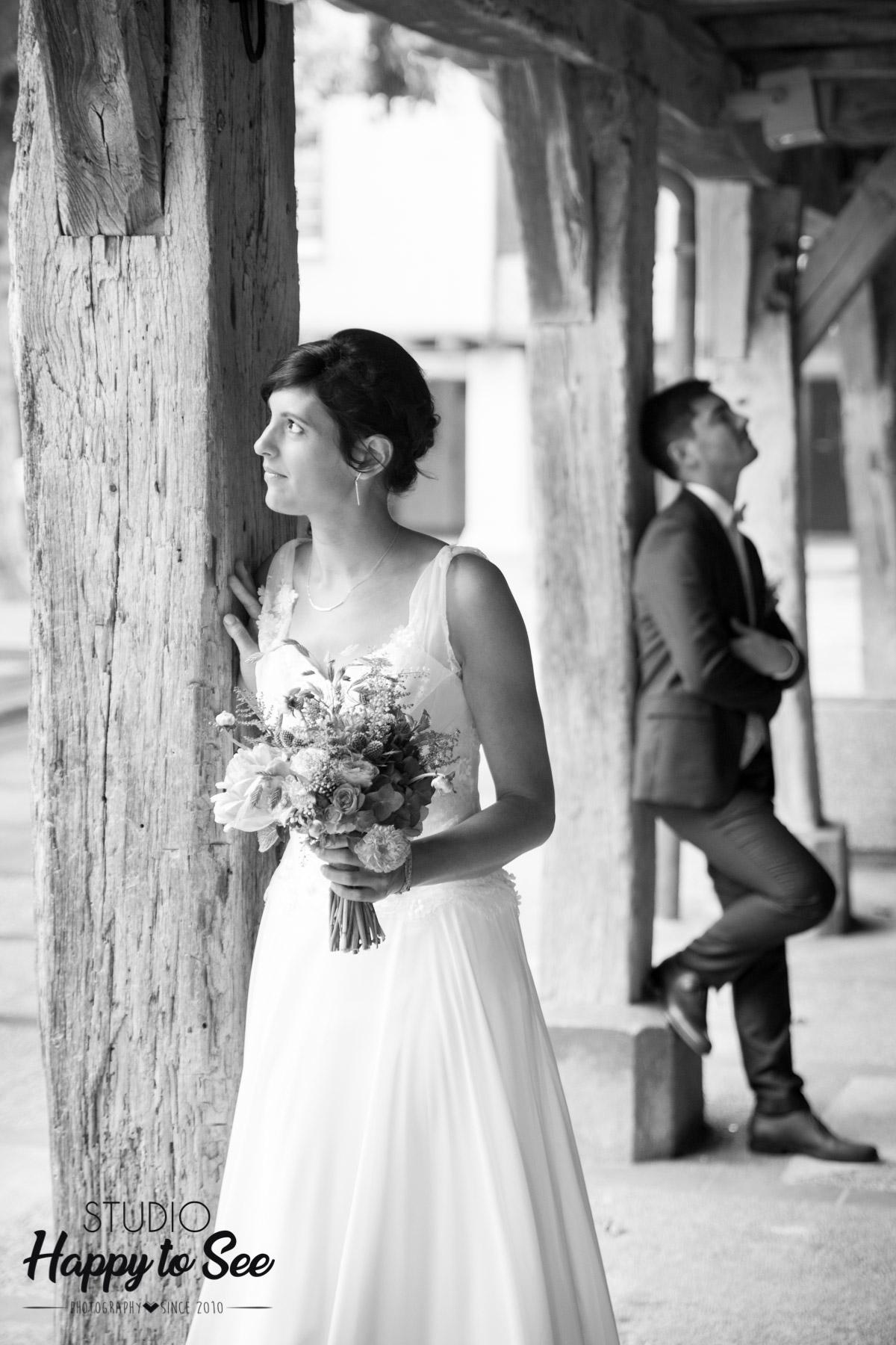 Mariage authentique et funky dans le Tarn