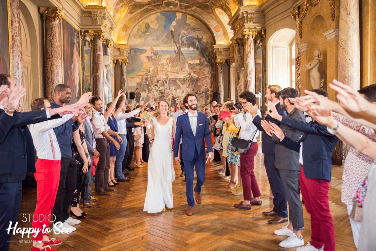 Photographe Mariage Toulouse Capitole salle des illustres