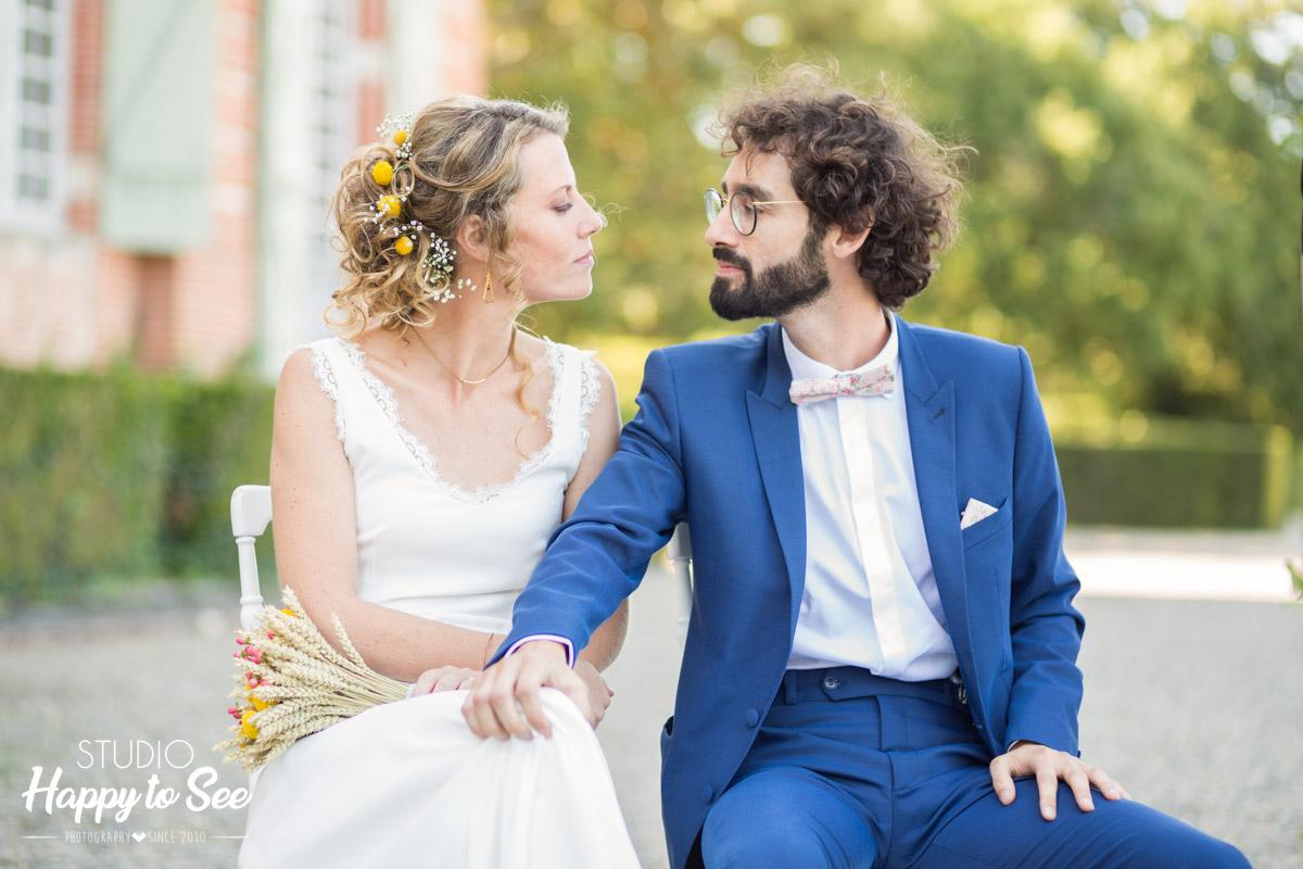 Mariage Chateau de Merville ceremonie laique
