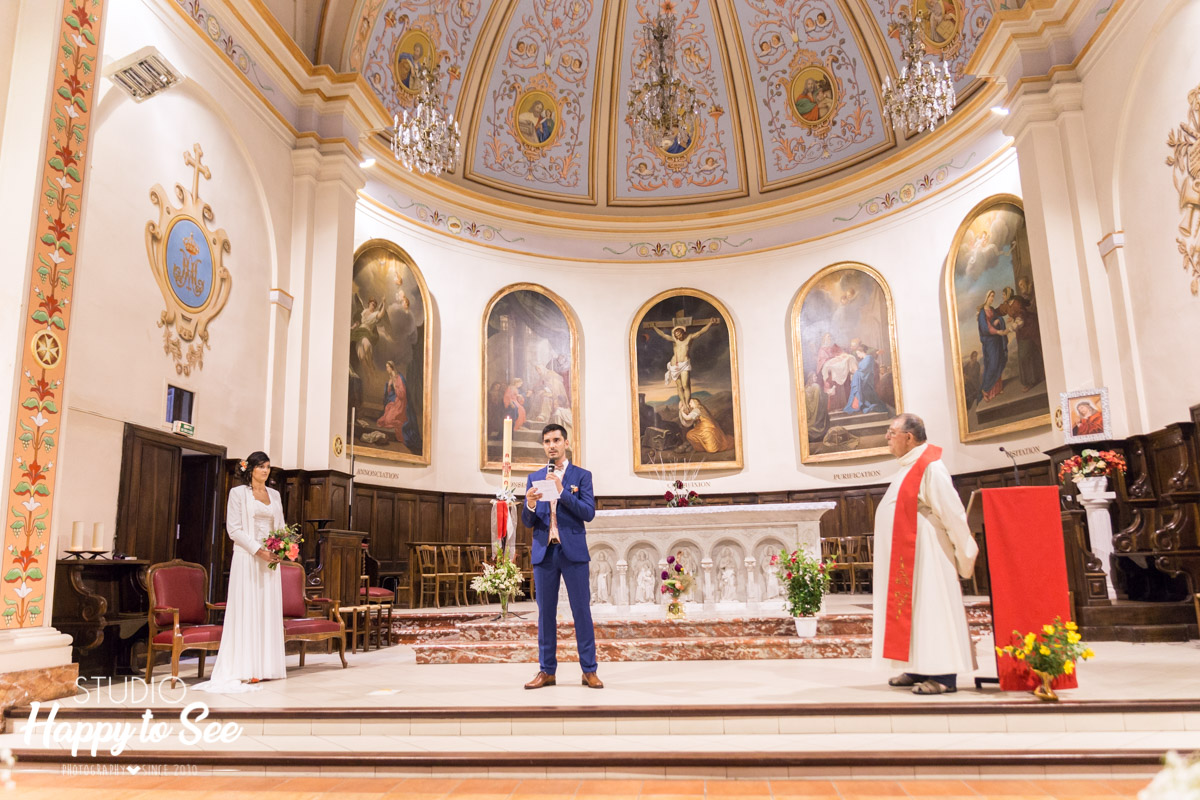 photographe reportage mariage tarn eglise briatexte