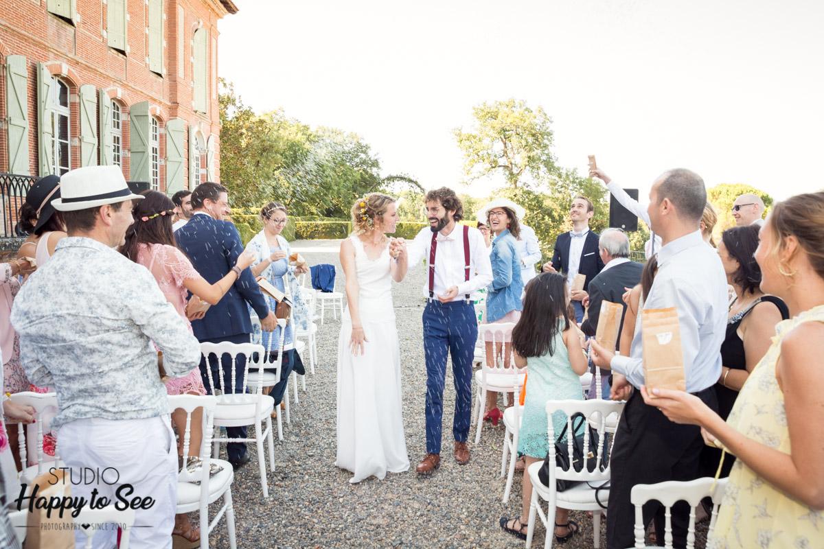 ceremonie laique photographe mariage chateau de merville