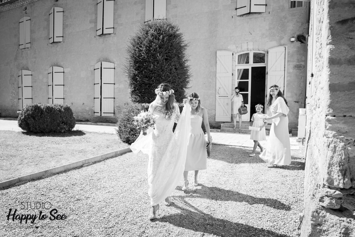 Photographe Mariage Chateau du croisillat