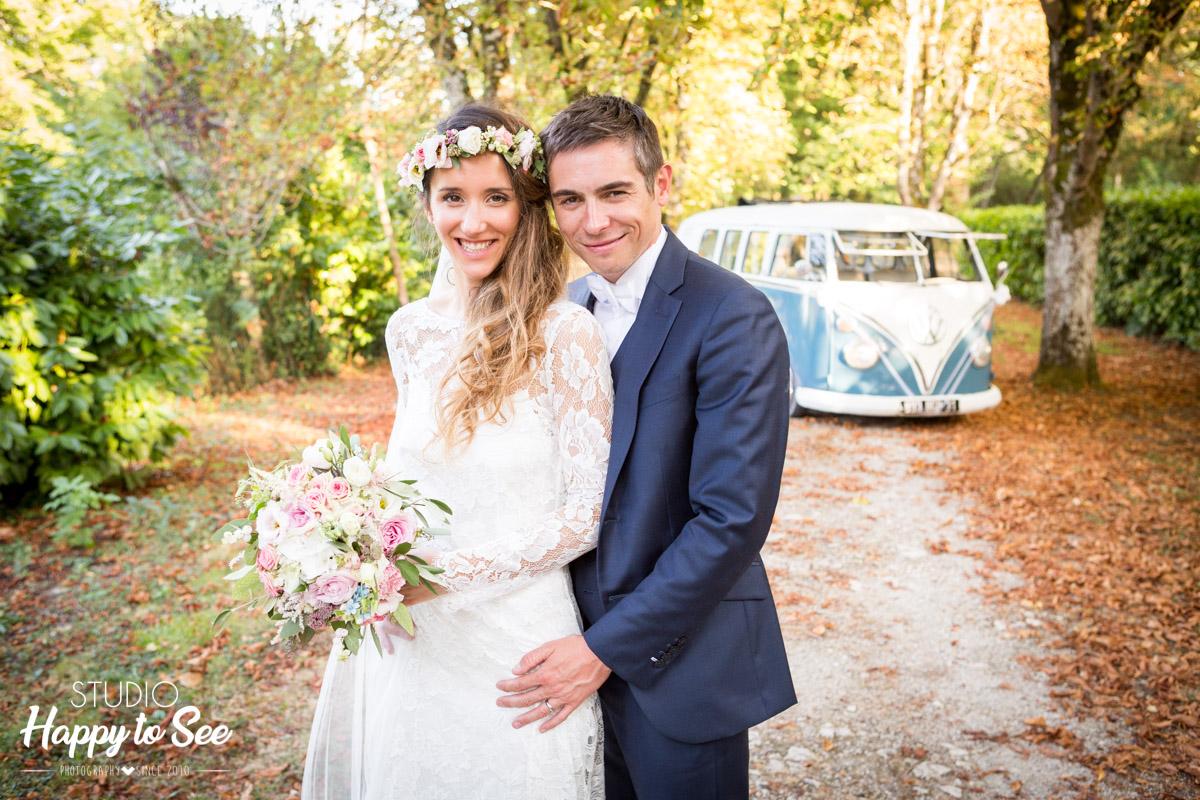 Mariage au chateau du Croisillat