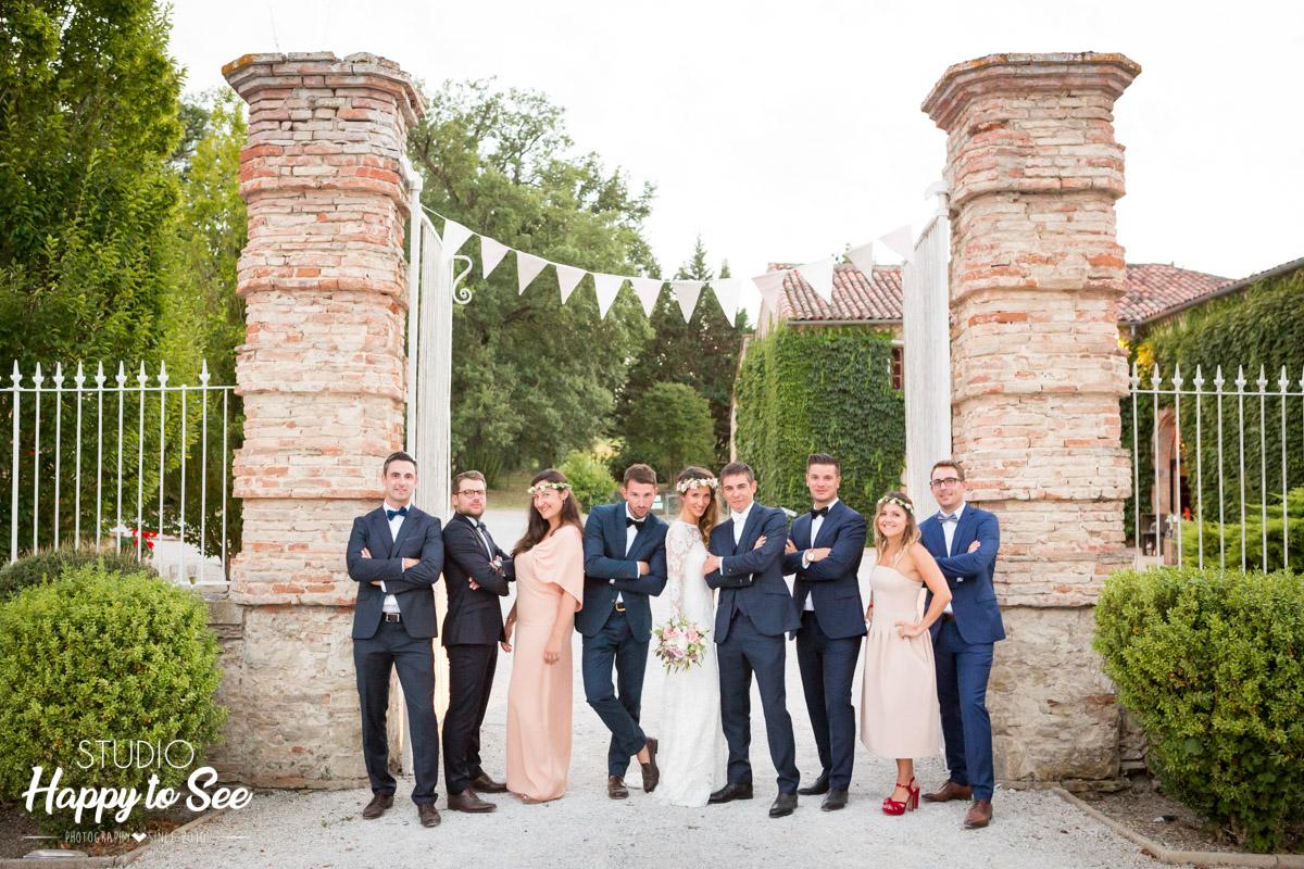 Mariage Chateau du Croisillat dress code temoins