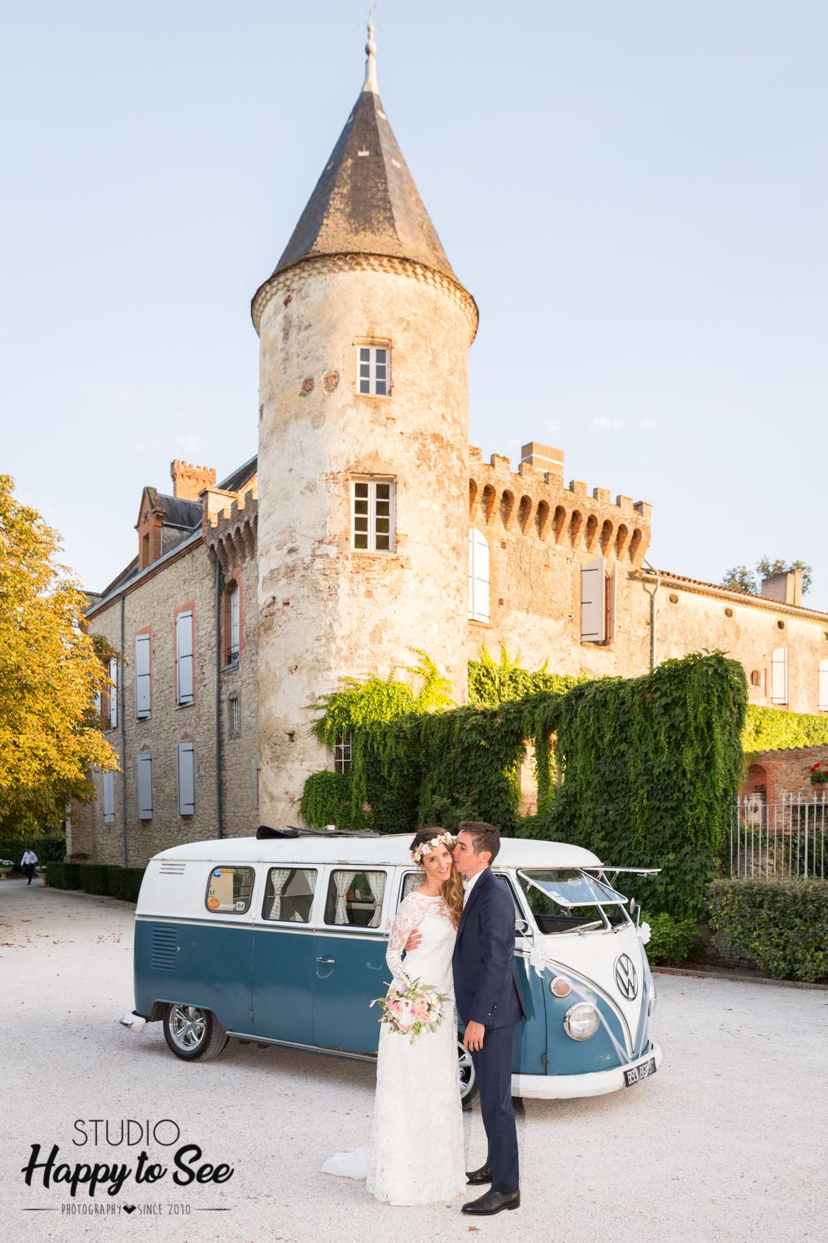 Chateau du Croisillat Photographe Mariage