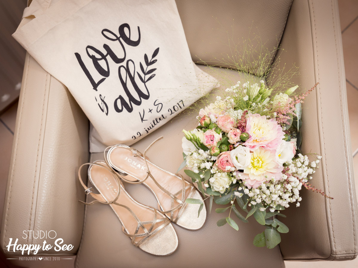 Mariage champetre Toulouse tote bag Love is all