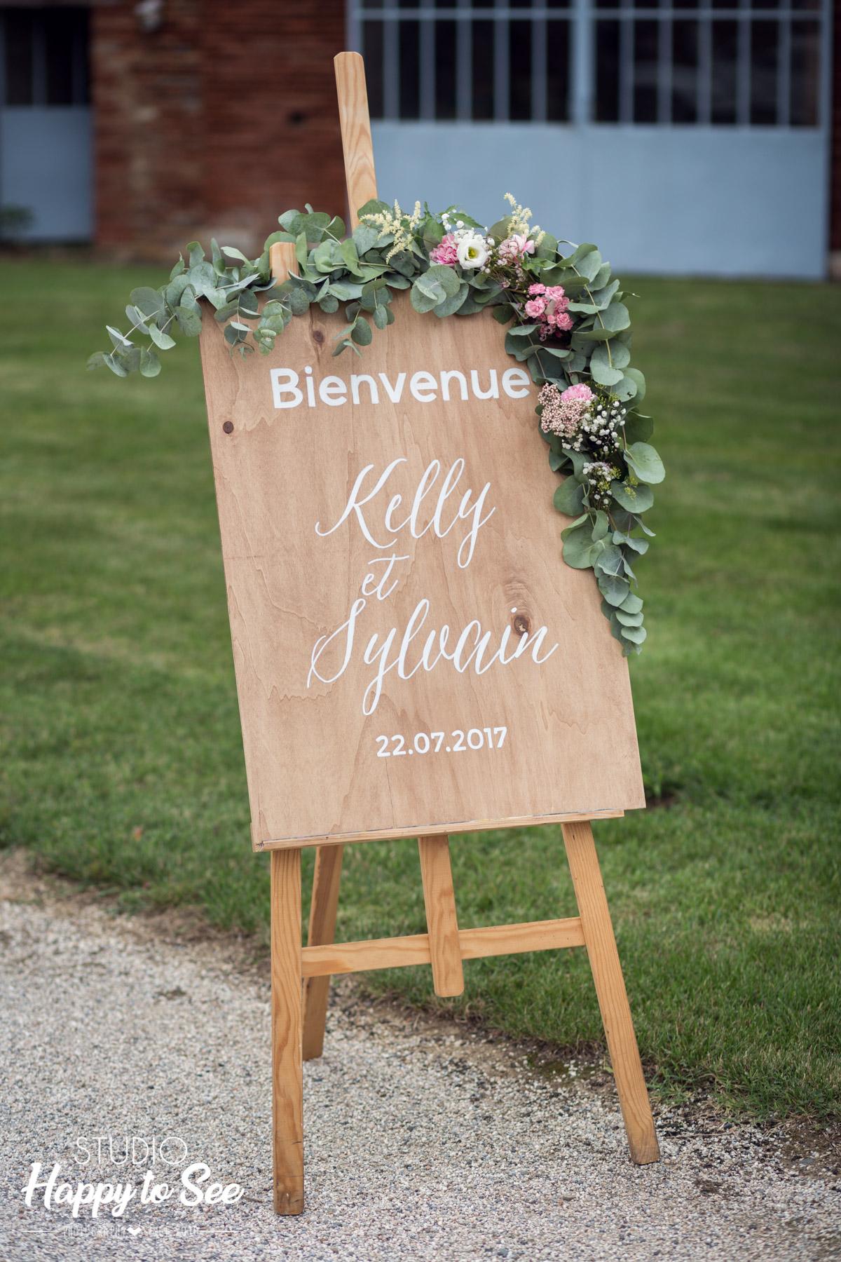 decoration mariage champetre Domaine du Galant