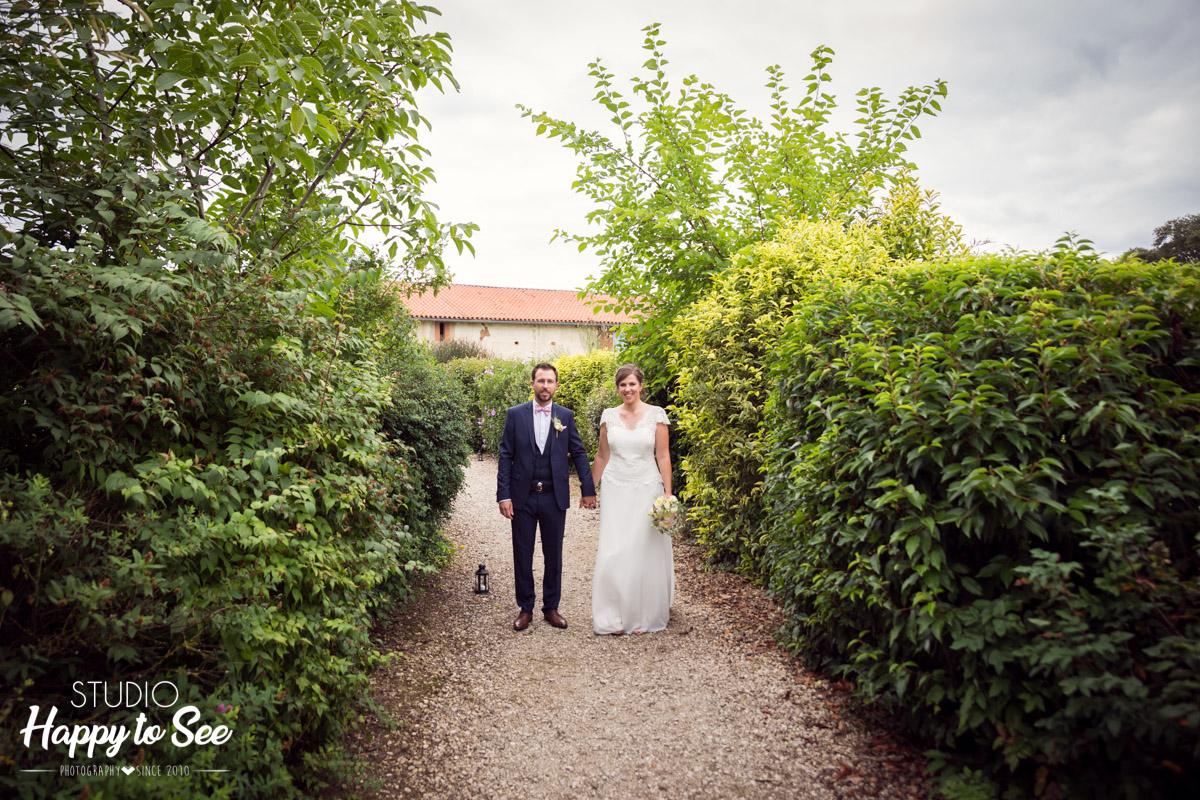 Mariage champetre Domaine du Galant