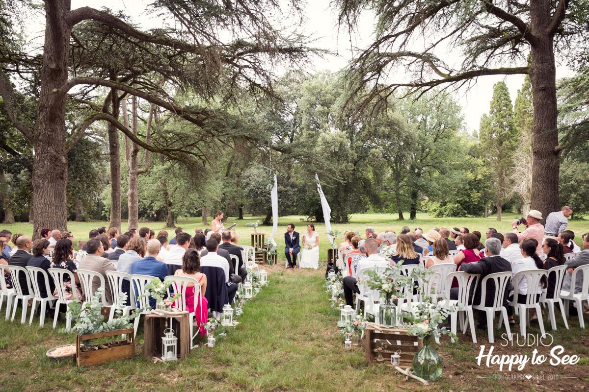 Mariage Domaine du Galant ceremonie laique