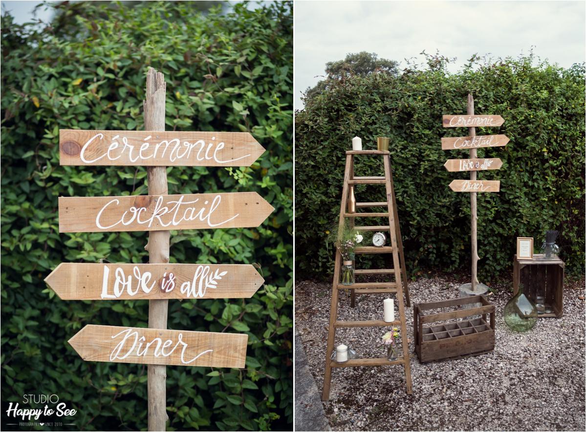 decoration tendance mariage champetre Domaine du Galant