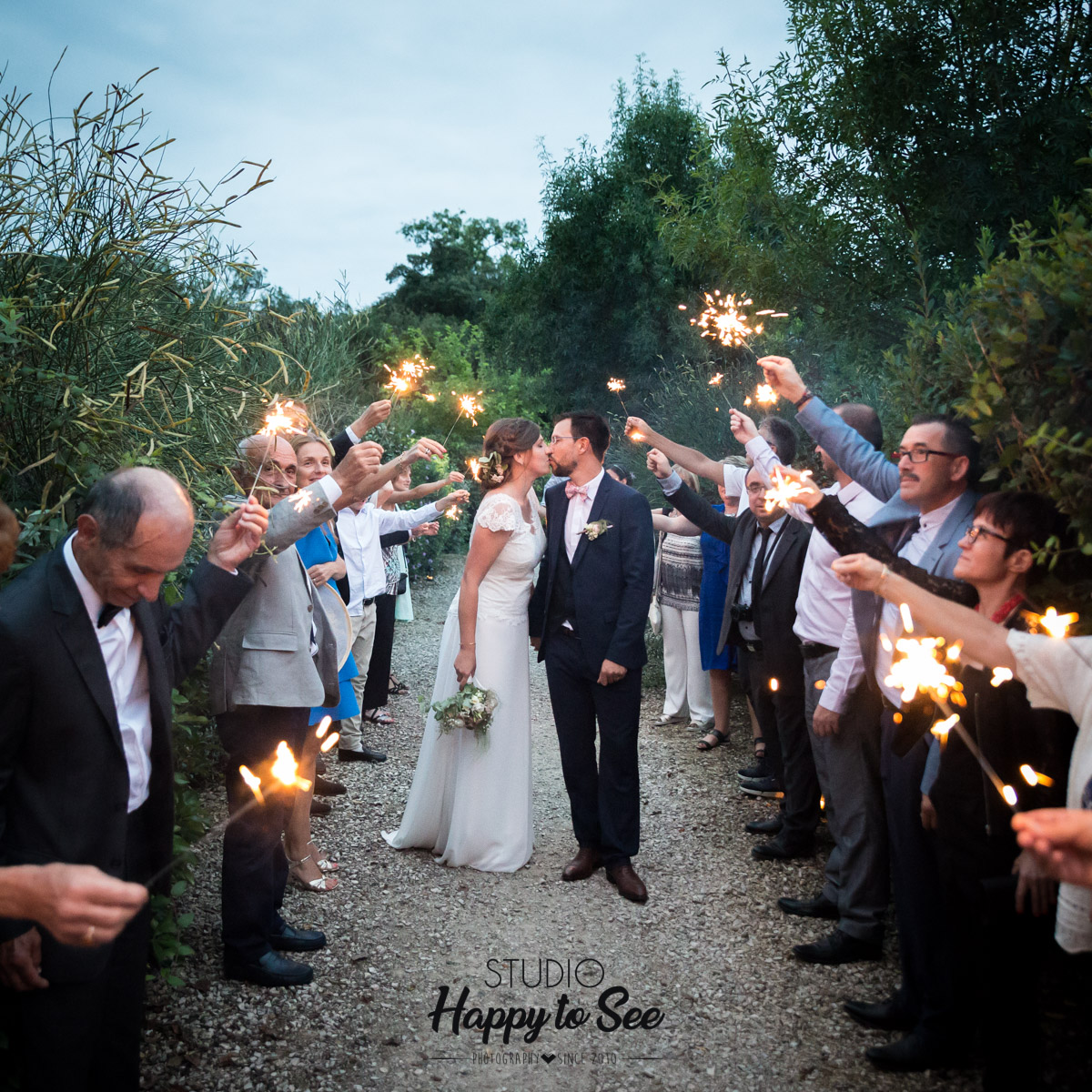 mariage domaine du galant cierges magiques