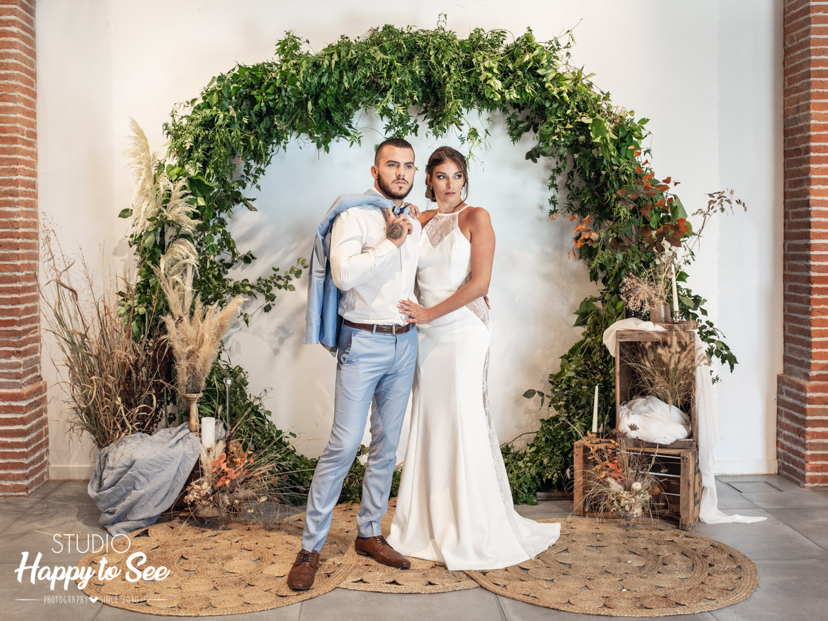 shooting mariage toulouse Manoir du Prince