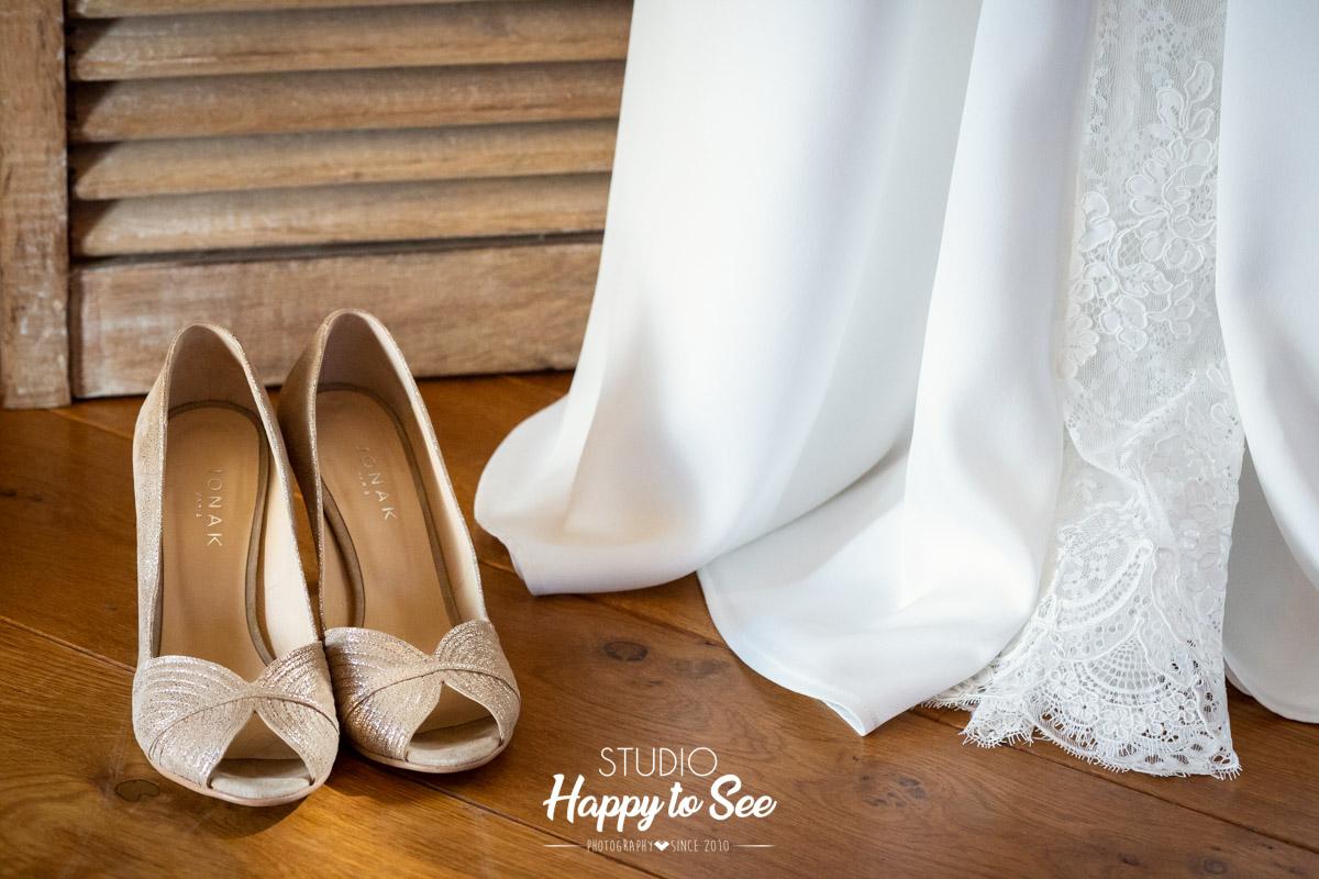 Robe de mariee Laura Sitbon Chaussures Jonak Toulouse