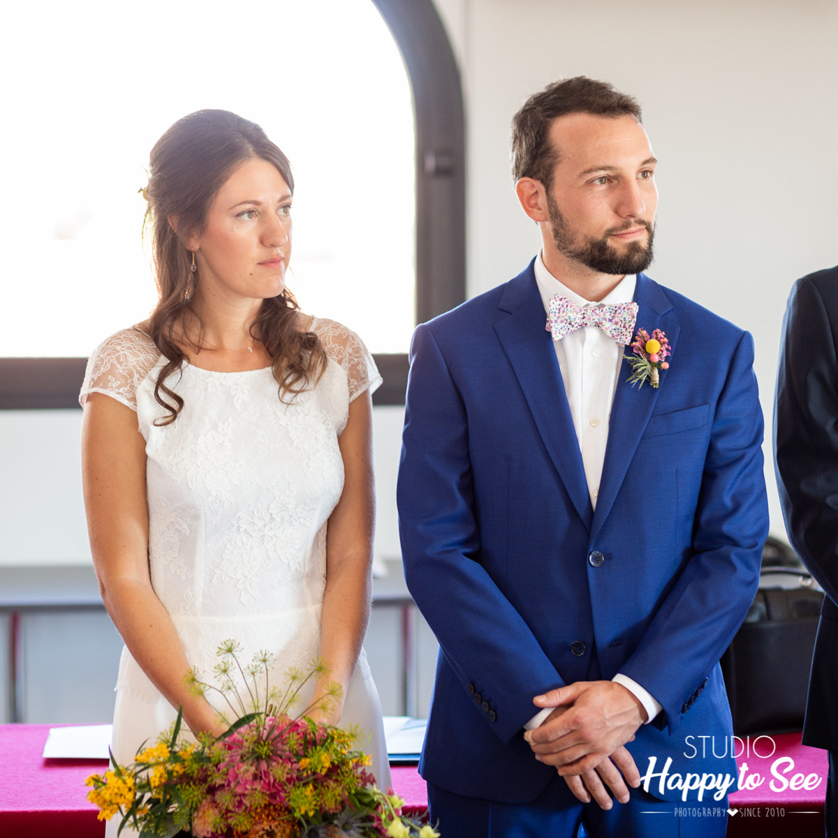 reportage mariage Mairie Castelginest