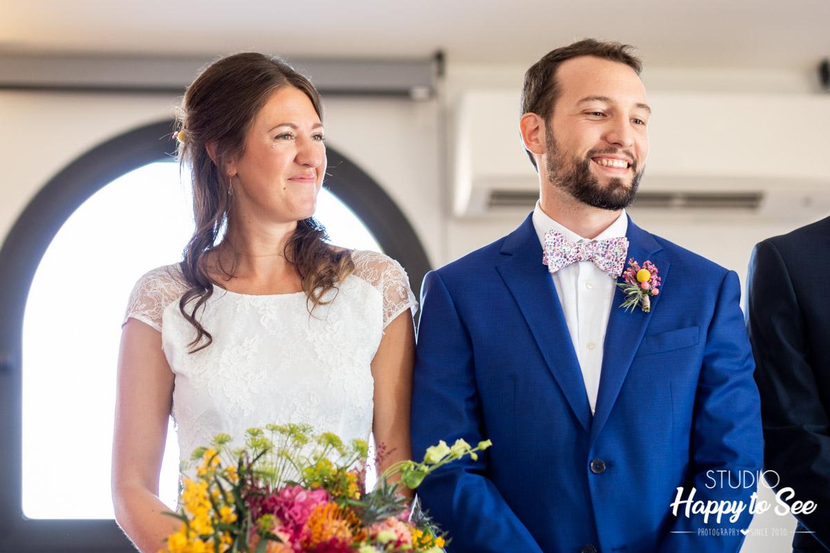 reportage photographe mariage Mairie Castelginest