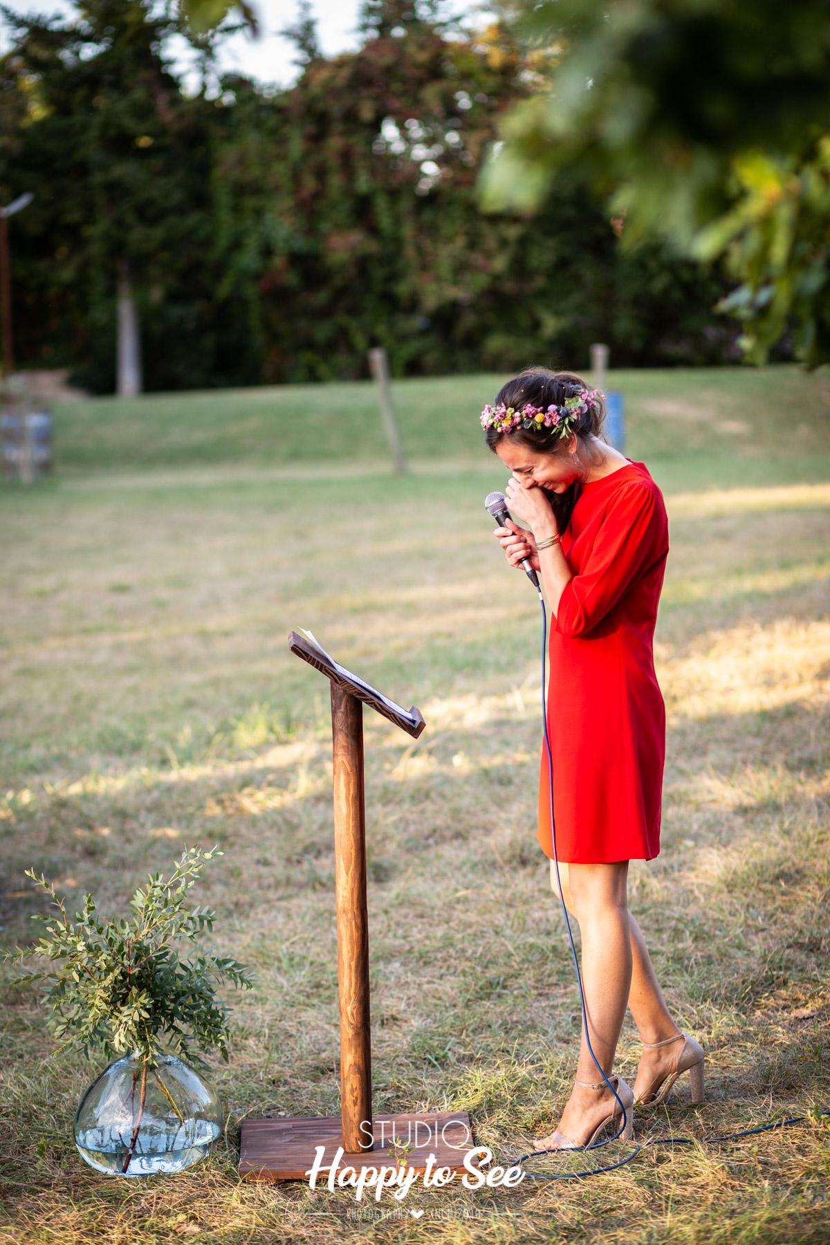 Reportage Mariage ceremonie laique Moulin de Nartaud