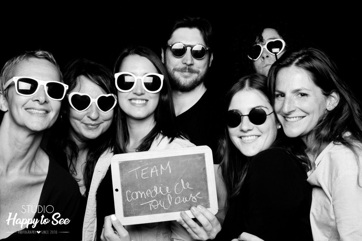 Photobooth La Comedie de Toulouse