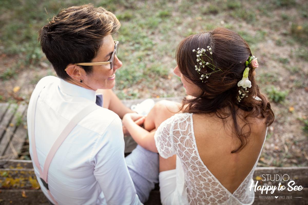Mariage lesbien La Cave des Anges