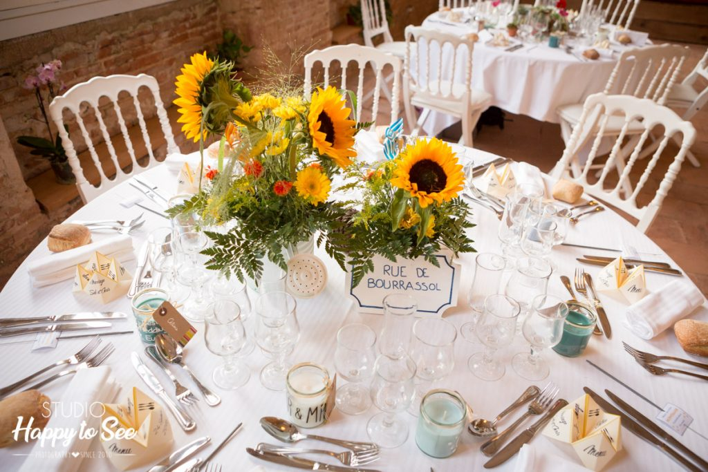 decoration table mariage domaine st gery