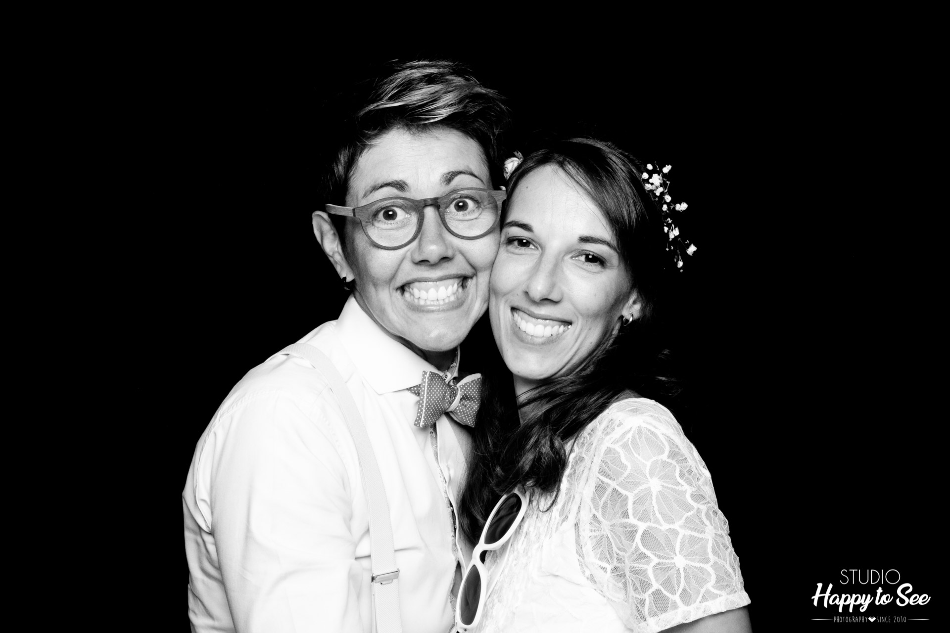 Photobooth Mariage Lesbien