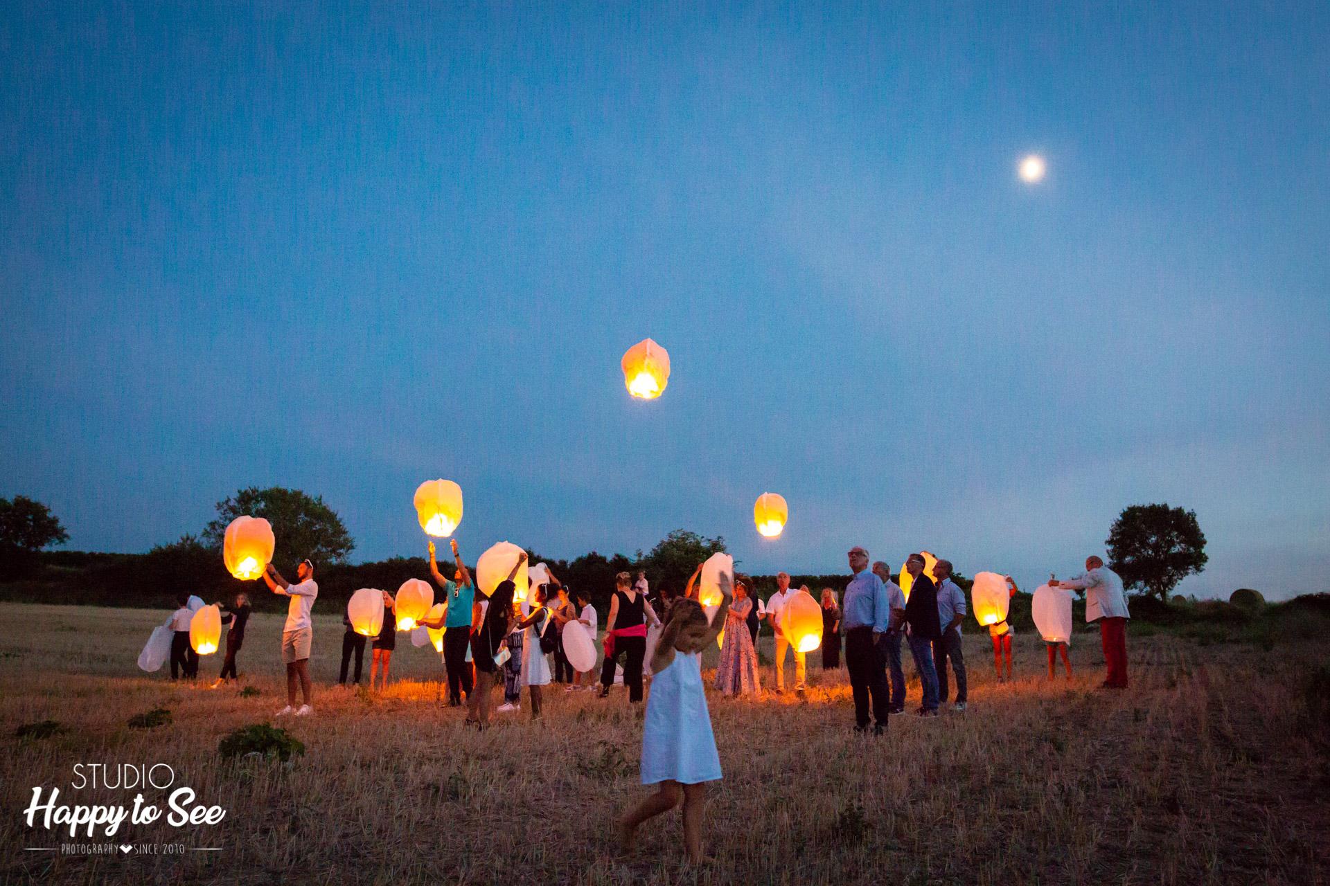 Lanternes Mariage la cave des anges carcassonne corbieres