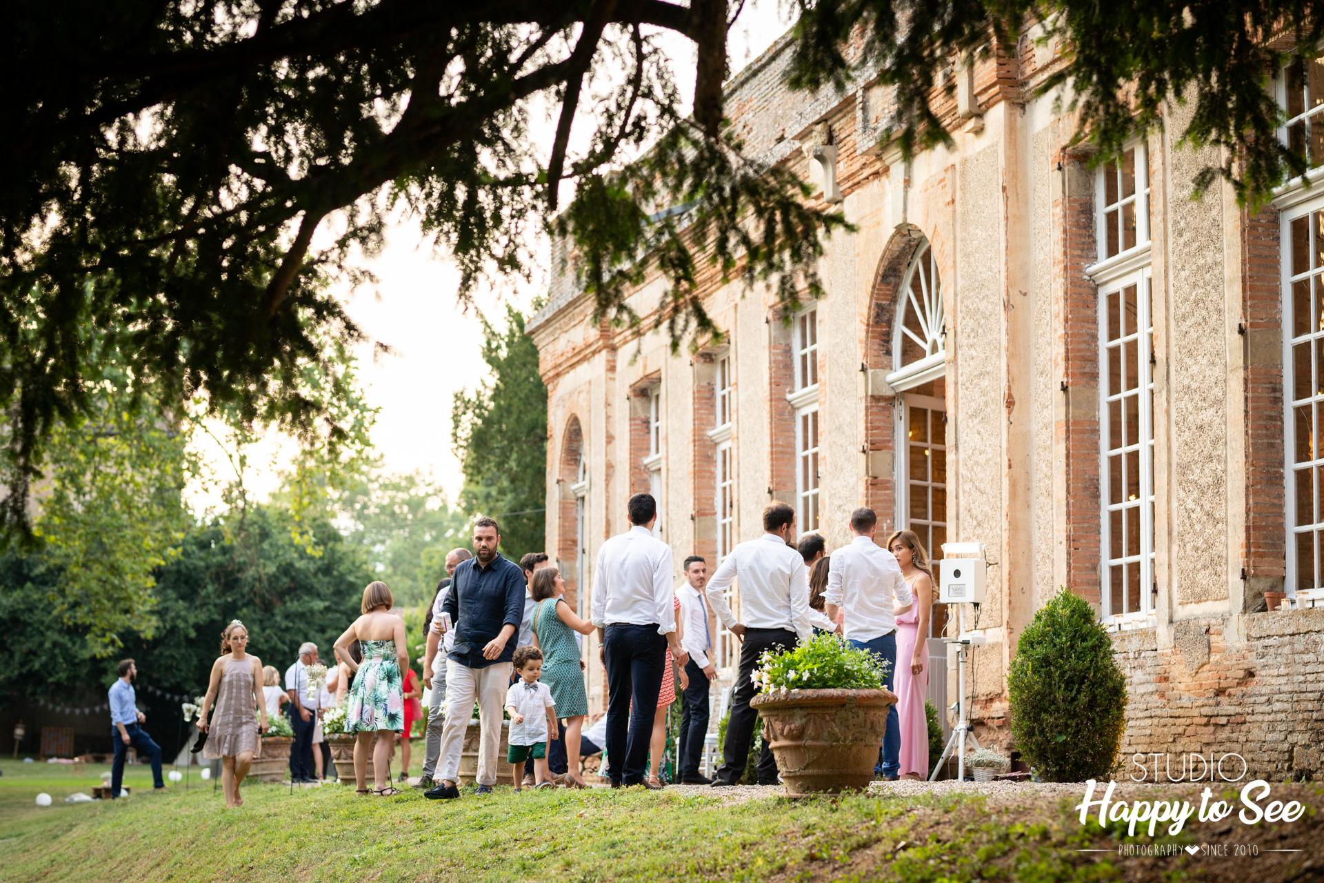 Domaine mariage Tarn Château de Saint Géry Rabastens
