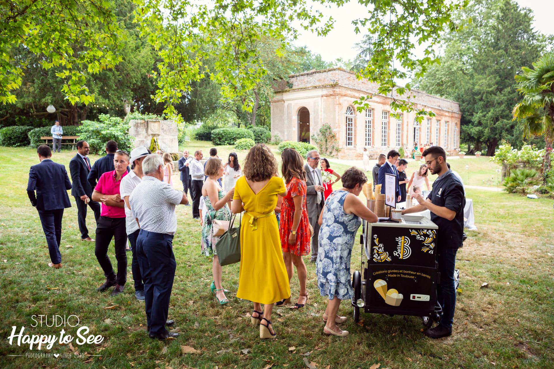 Mariage dans le Tarn Château de Saint Géry