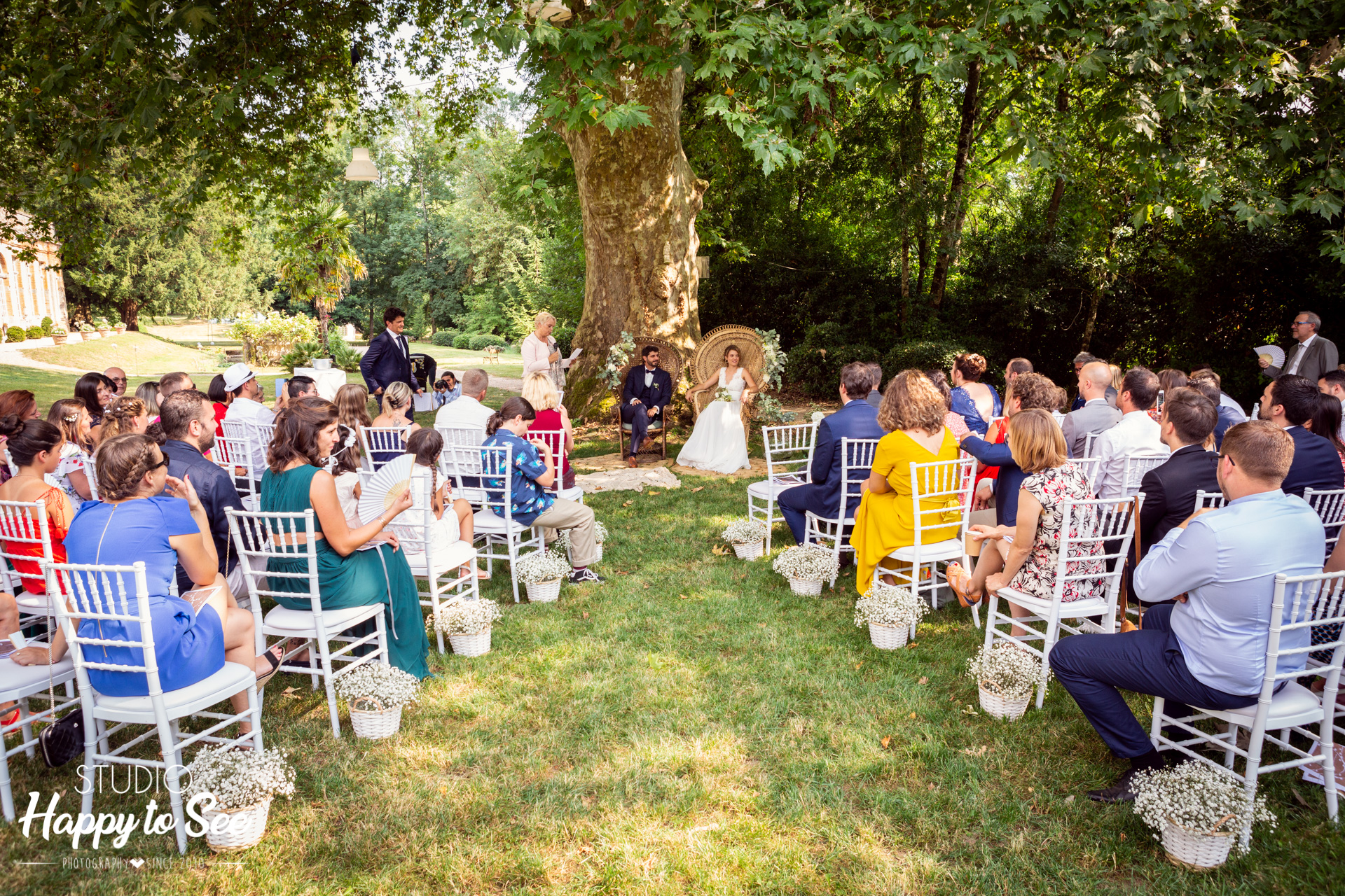 Ceremonie laique Mariage dans le Tarn