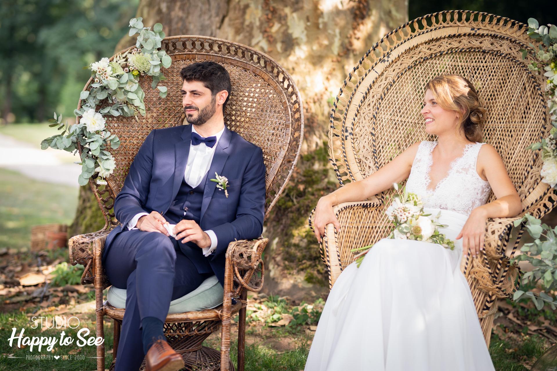 Ceremonie laique Mariage dans le tarn Fauteuil Emmanuelle