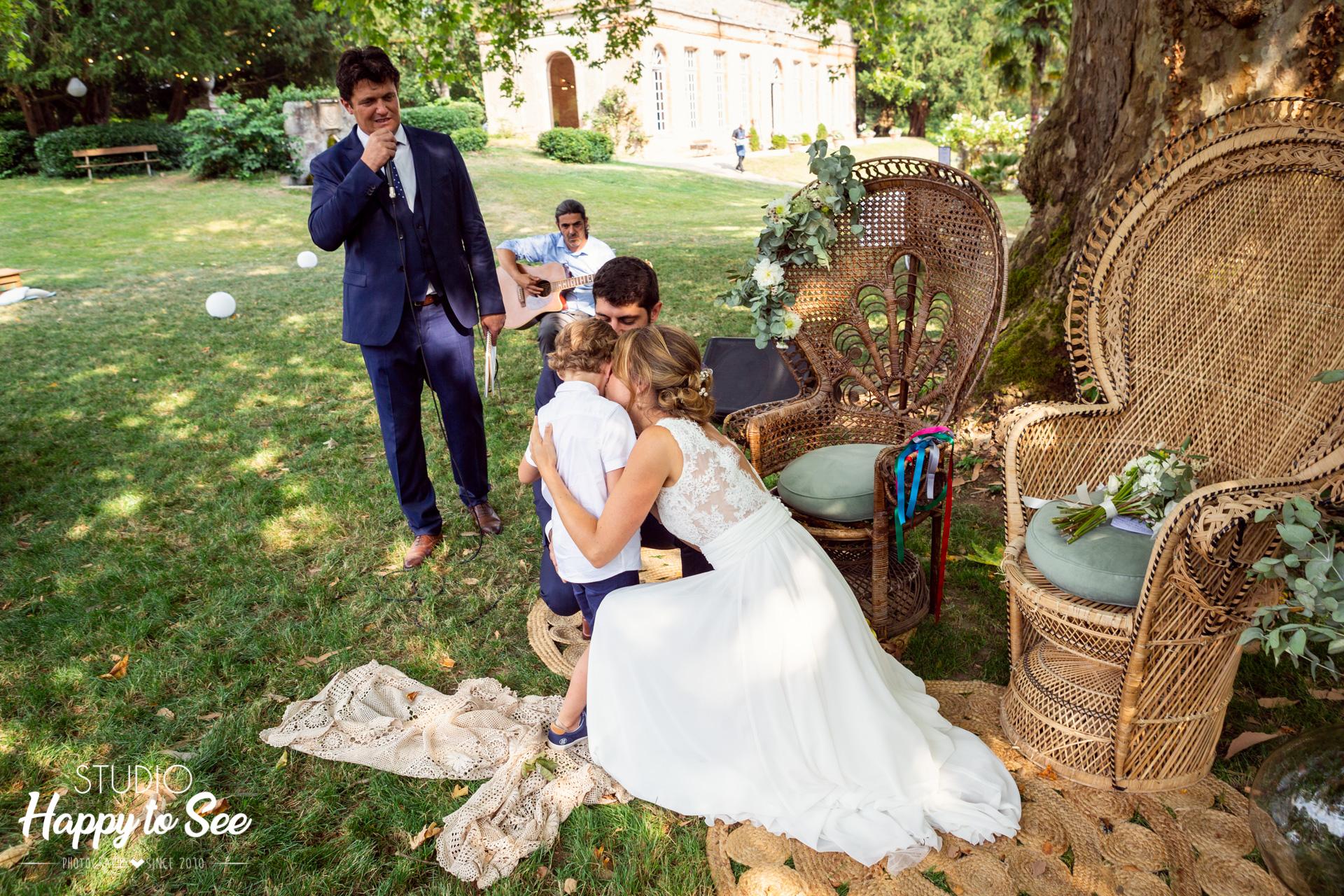 Reportage Mariage dans le Tarn Ceremonie laique