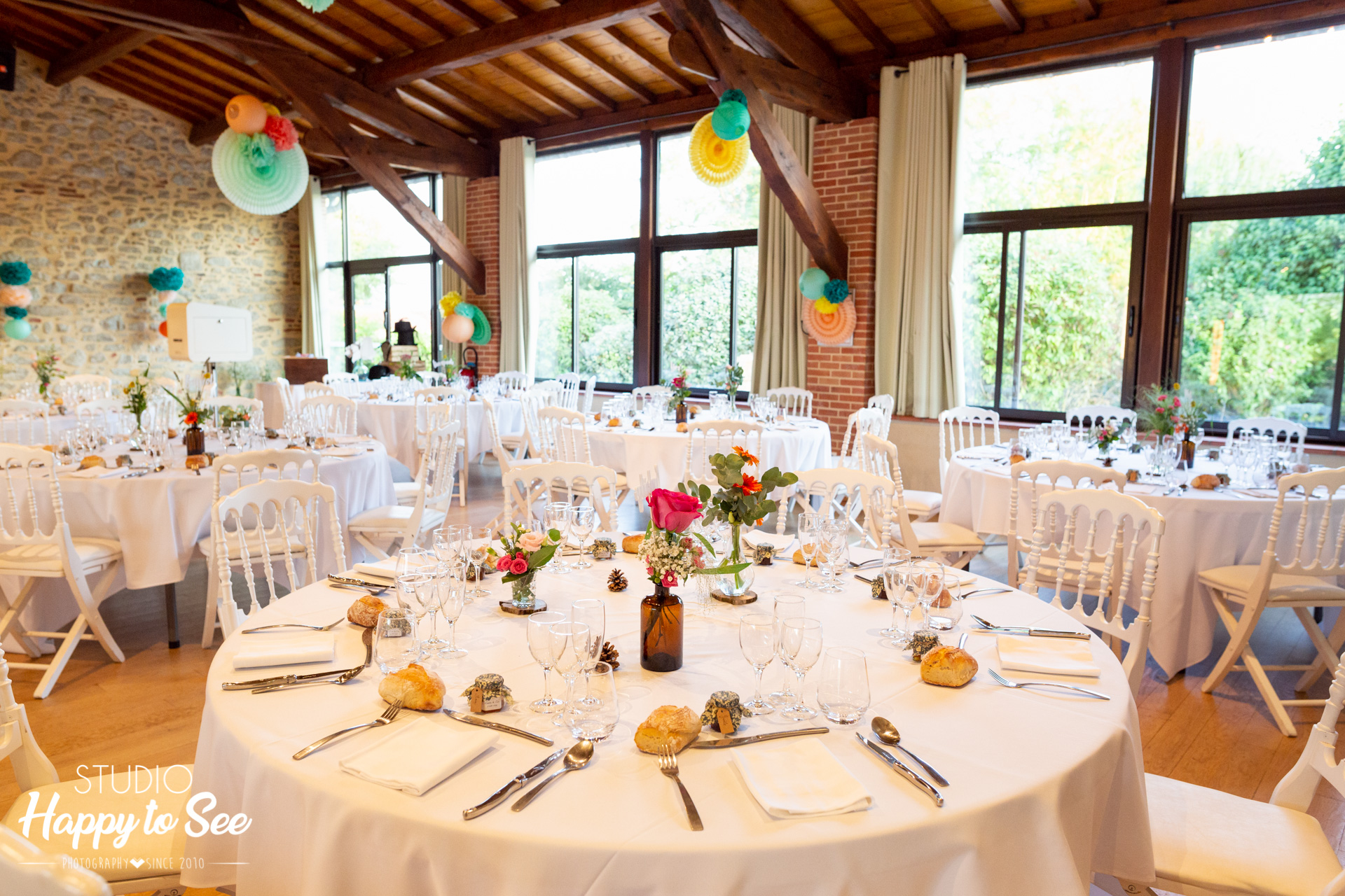 Salle mariage Domaine Combe Ramond