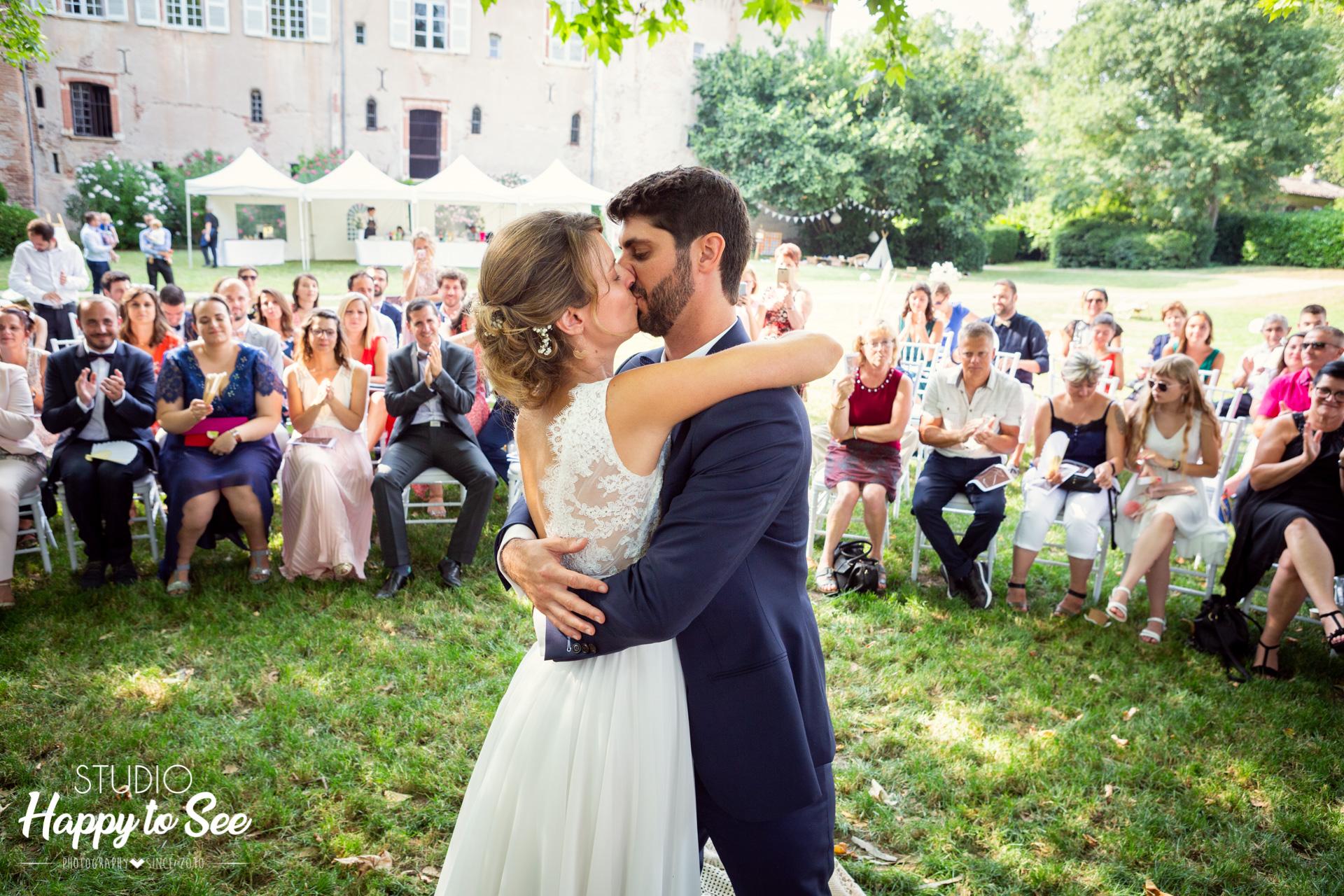 Mariage dans le Tarn Ceremonie laique Château de Saint Gery