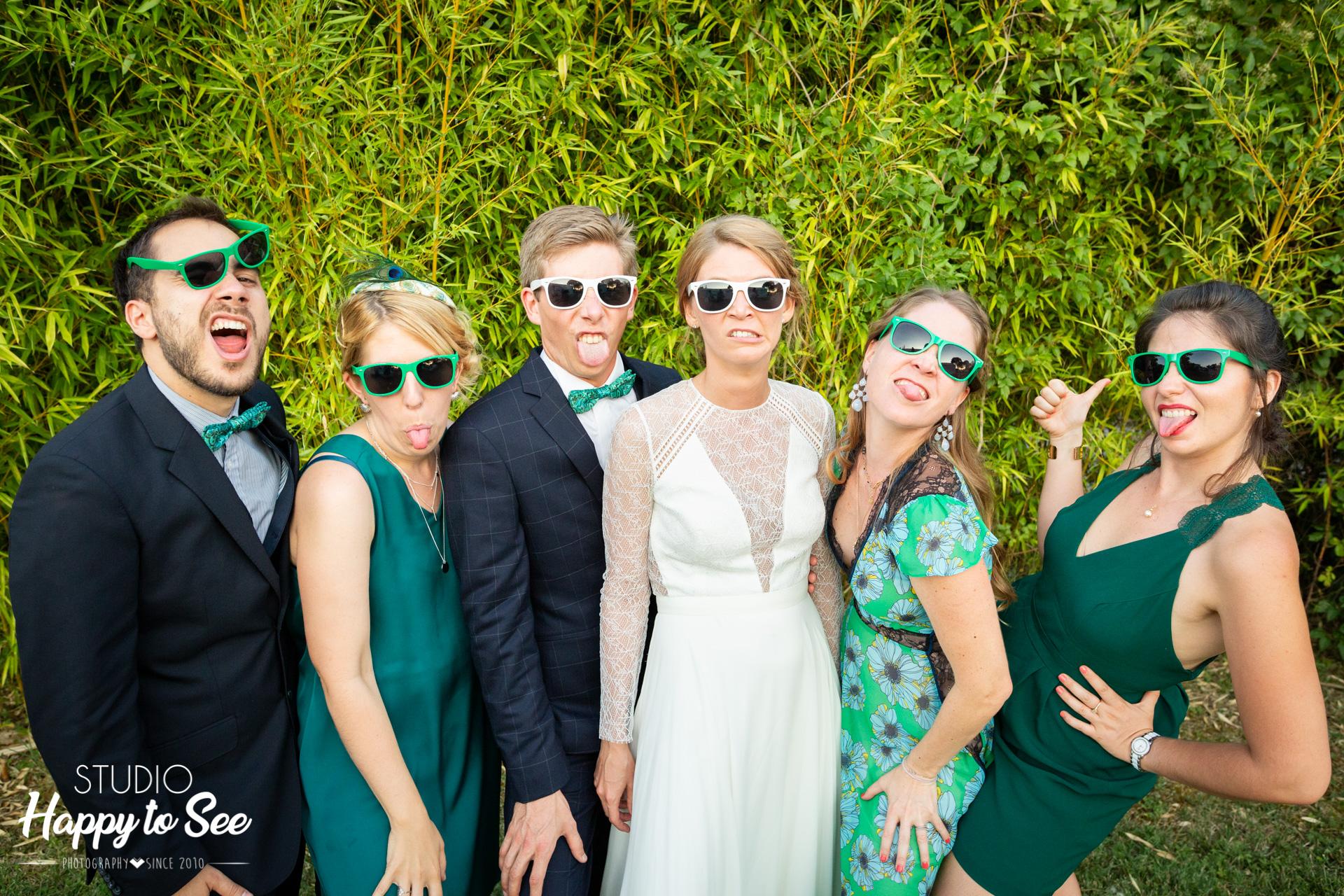 Mariage Domaine de Combe Ramond Dress code vert temoins