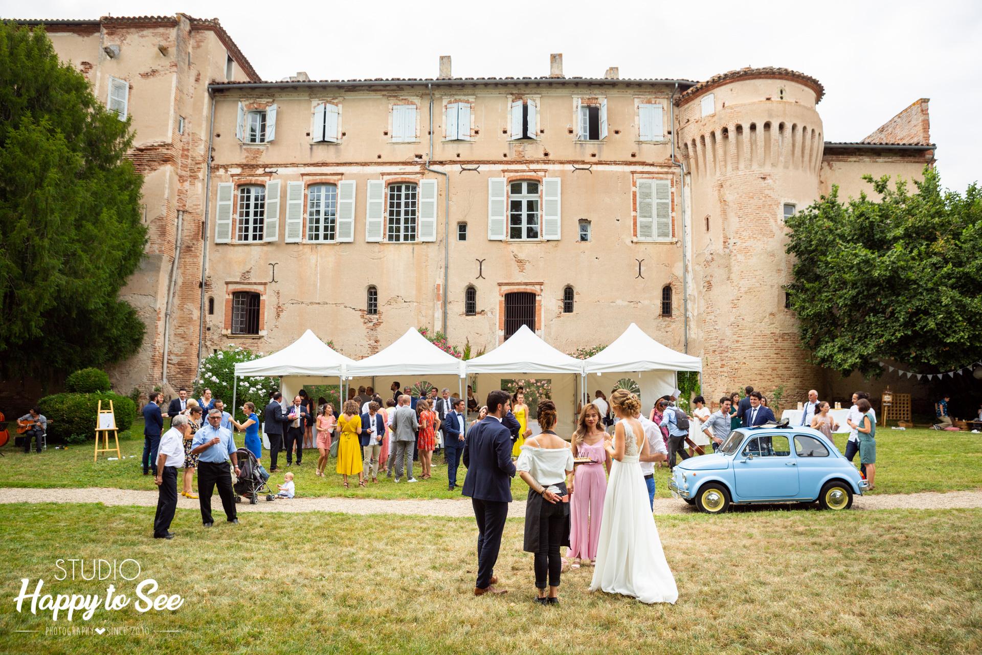 Mariage dans le Tarn Château de Saint Gery