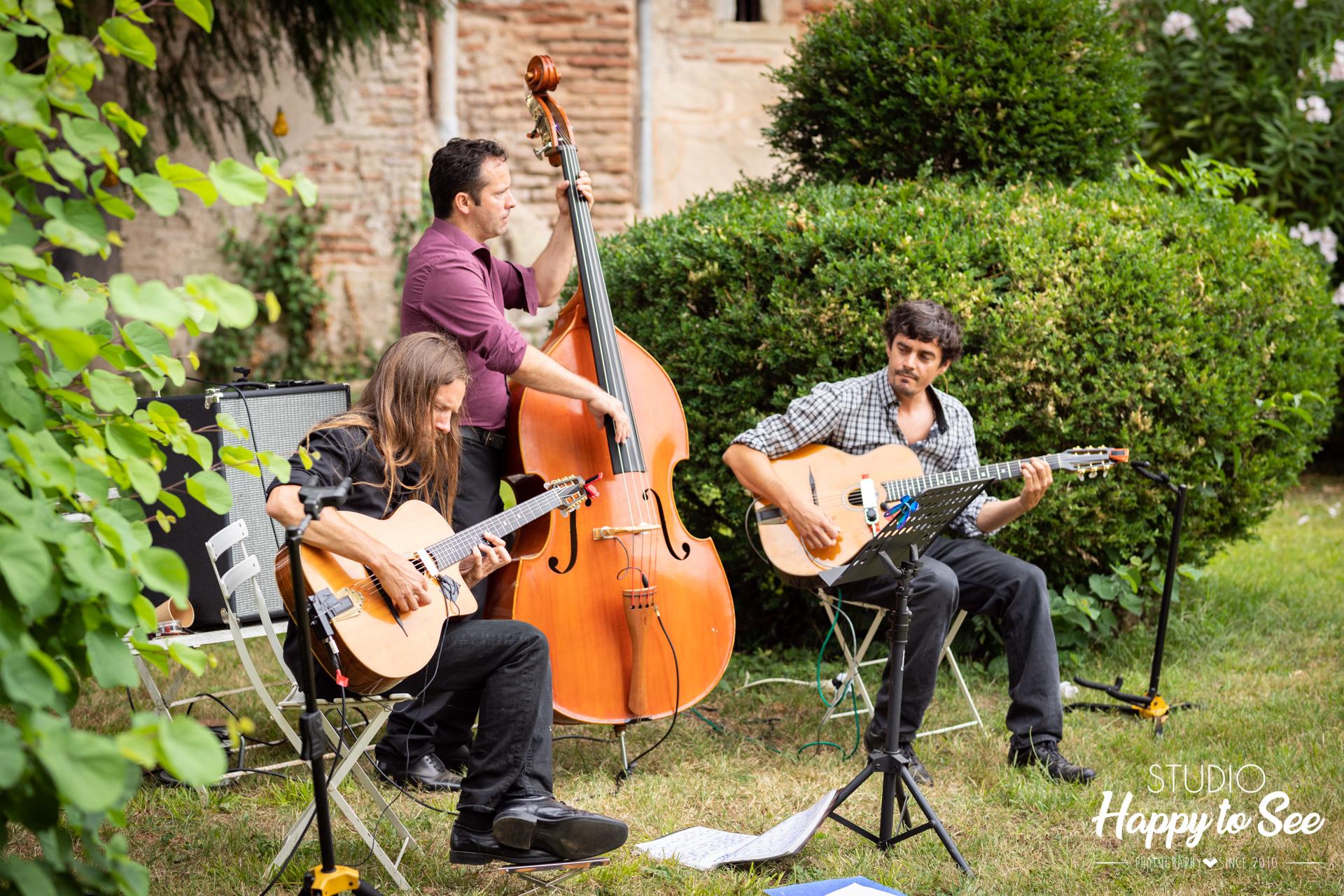 Groupe de musique mariage La roulotte de printemps