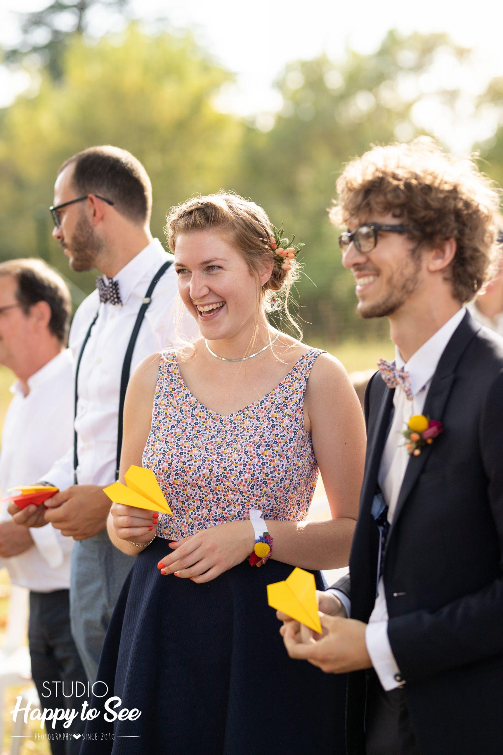 Reportage Mariage coloré chateau du croisillat