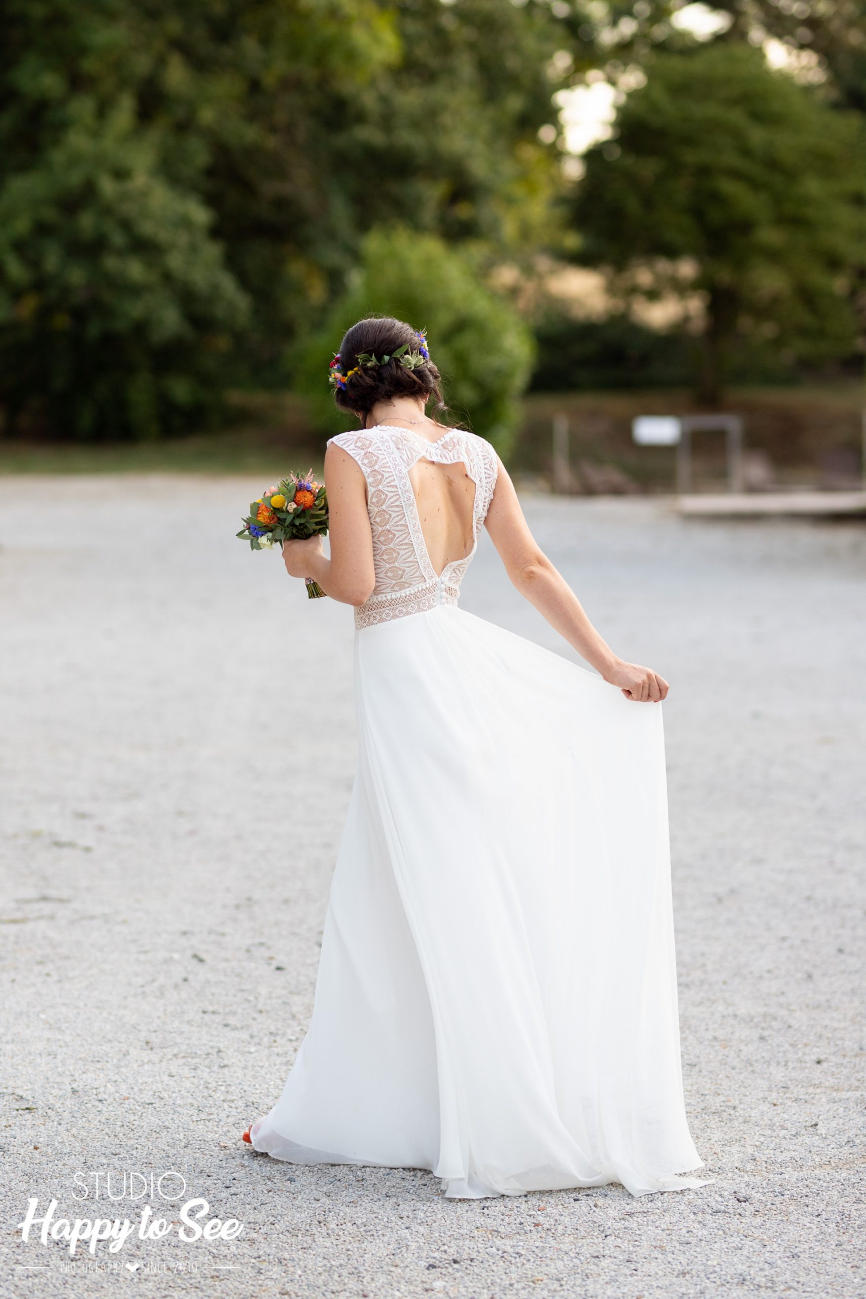 Robe de mariée Muriel Prando