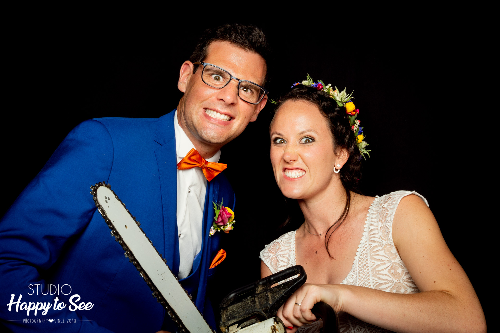 Studio Mobile Happy to See animation photobooth mariage
