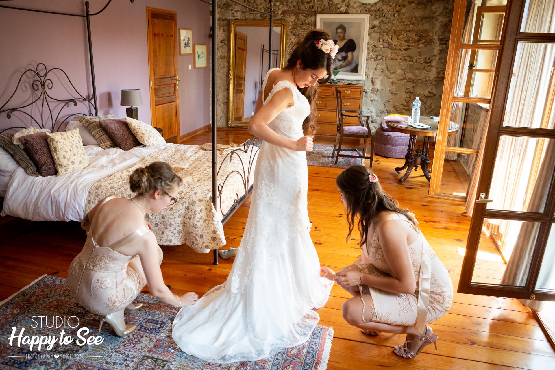 Mariage au domaine gayda Limoux