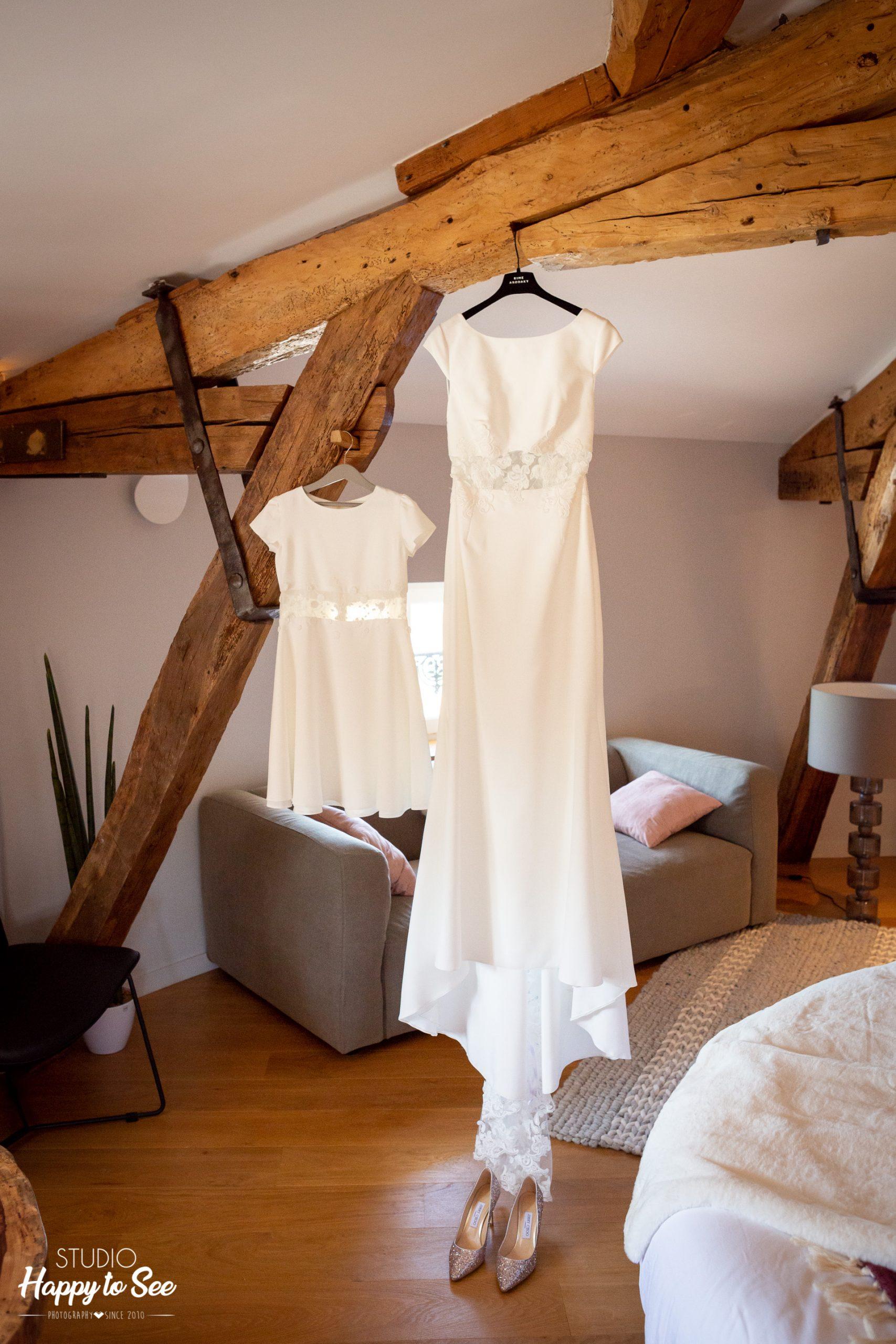 Mariage Chateau Roquefoulet Robe de mariee Rime Arodaky