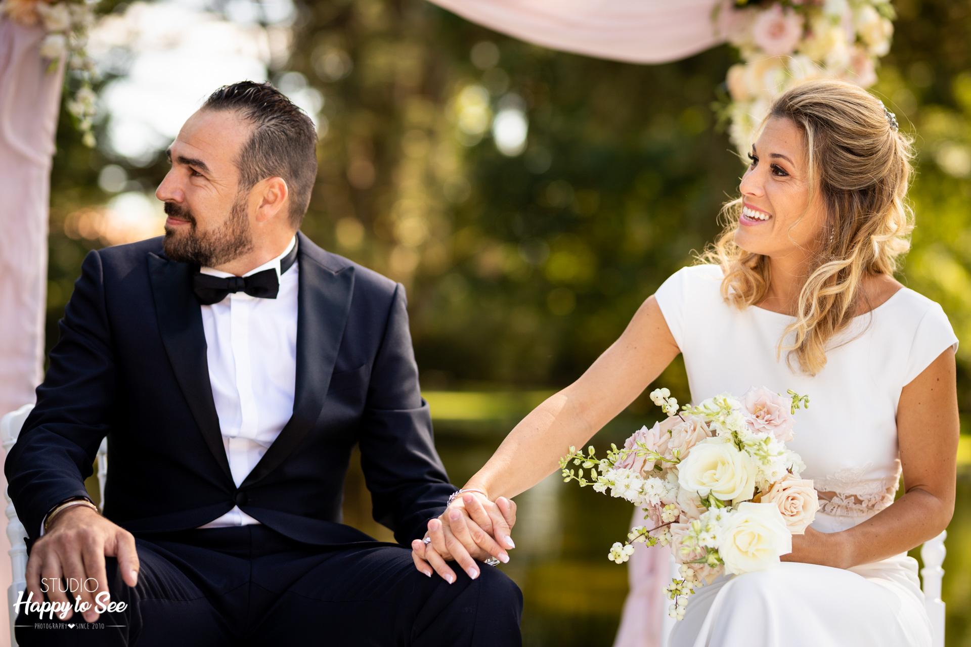 Mariage au Chateau de Roquefoulet ceremonie laique