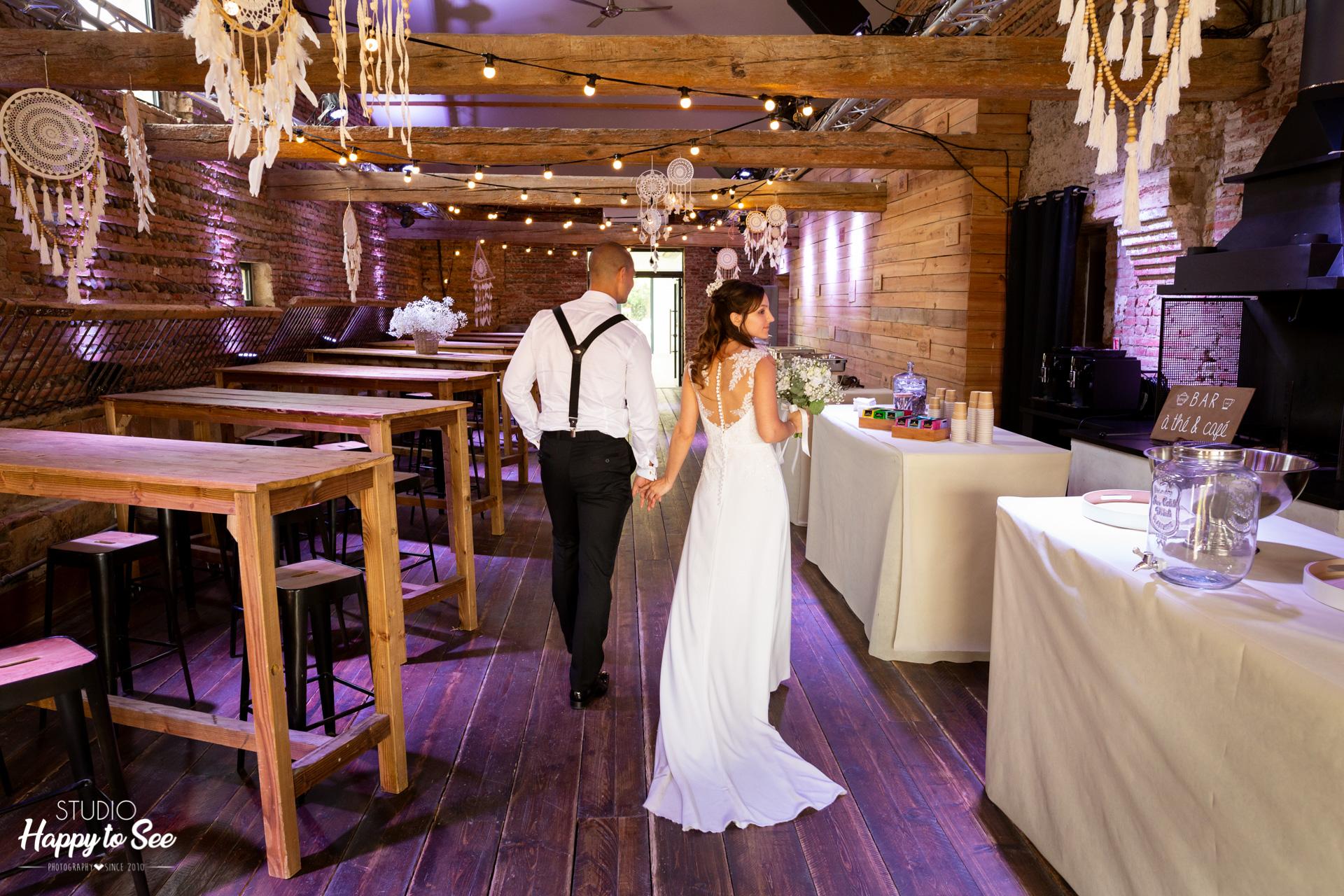 Mariage grange Mas Tolosa