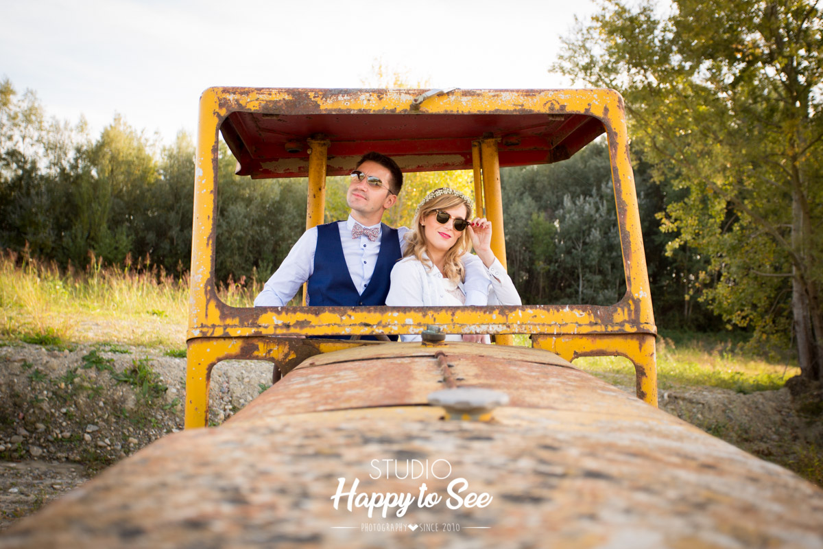 seance photo mariage trash the dress decale toulouse