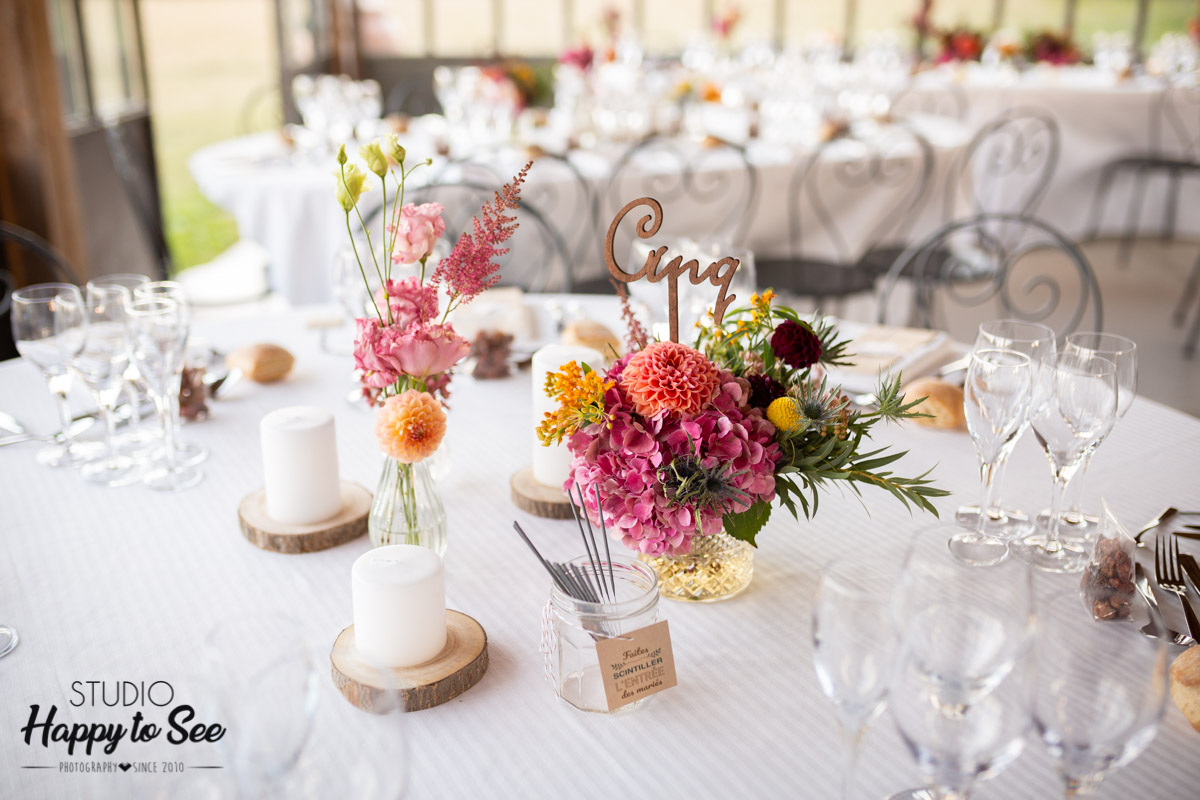 Decoration Table Mariage Champetre Chic Colore Studio Happy To